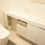 清潔で機能的なトイレ